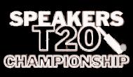 Speakers T20 Championship Logo